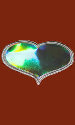 Applikationsmtrl. Hologram Silver