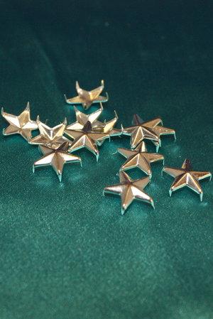 Metall stjärnor 16 mm