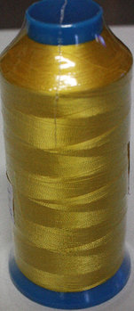 Brodyrtråd Rayon 5000m Gul (1124)