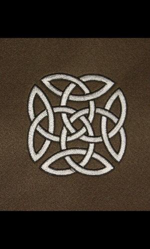 Brodyr filt i Army grönt/brunt