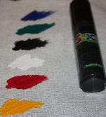 Glansig Färgpenna Svart