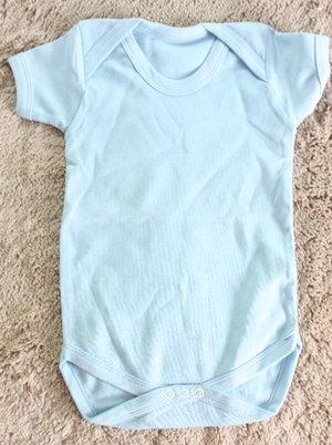 Kortärmad Bodysuit Blå