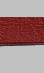 Applikationsmtrl. Läderimitation Röd, rivbart 50x20cm