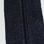 Blixtlås Mörkblå