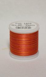 Flerfärgad tråd, Brinnade Orange Col.1506