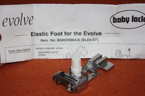 Babylock Evolve E elastic foot