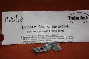 Babylock Evolve H Blind hem foot