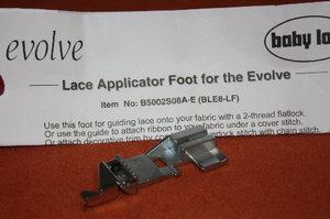 Babylock Evolve L Lace applicator