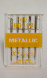 Nålar Metallic Klasse 5-pack