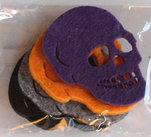 Filt Halloween Skull