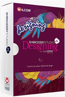 Embroidery Studio Designing e4 med CorelDRAW