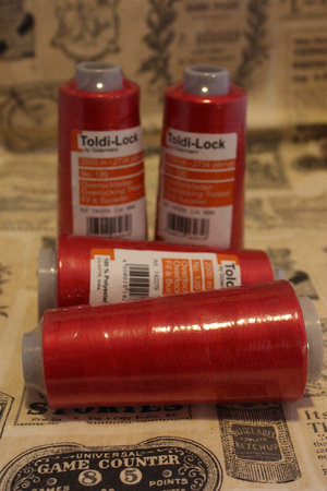 OverLock tråd Toldi-Lock Klarröd