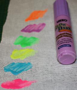 Självlysande Färgpenna Lila