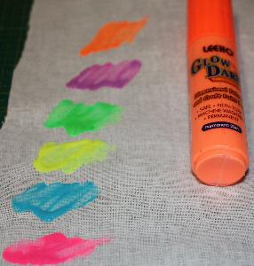 Självlysande Färgpenna Orange