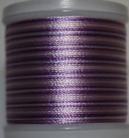 Flerfärgad tråd, Lila i olika toner mot vitt Col.2014