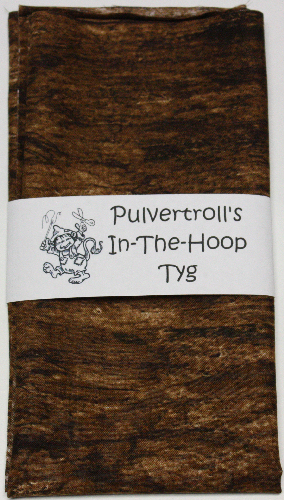 Pulvertroll's In-The-Hoop Tyg