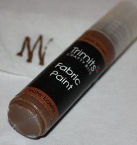 Textilfärg Mörkbrun