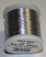 Madeira Antik Silver Metallic Col.342