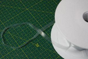 Silikonband Elastisk, Transparent